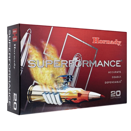 Hornady Superformance 30-06 Springfield Ammo 150 Gr SST