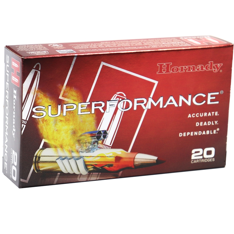 Hornady Superformance 243 Winchester Ammo 95 Grain SST