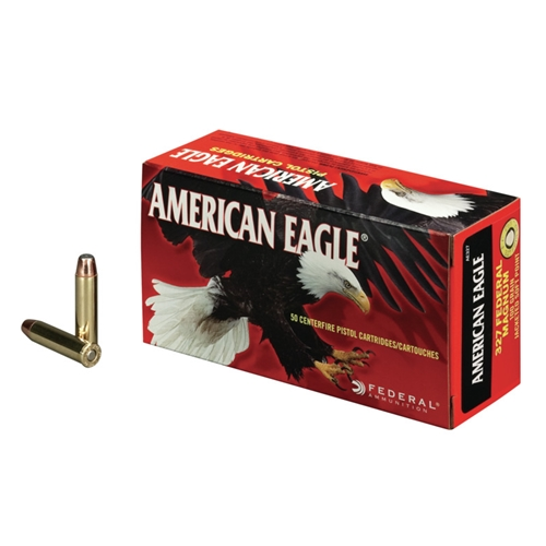 Federal American Eagle 327 Federal Magnum Ammo 100 Gr JSP