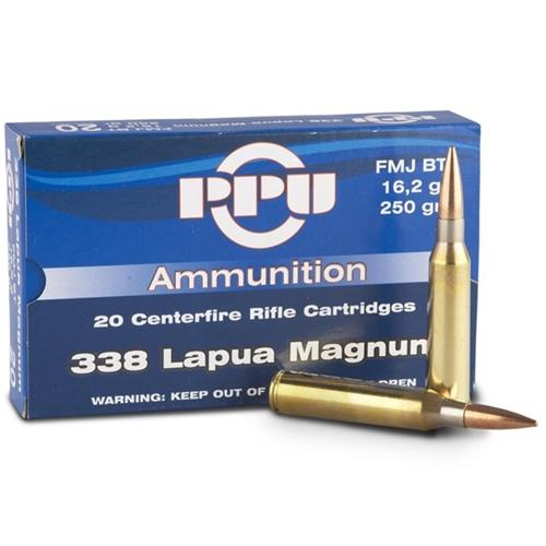 Prvi Partizan 338 Lapua Magnum Ammo 250 Grain Full Metal Jacket