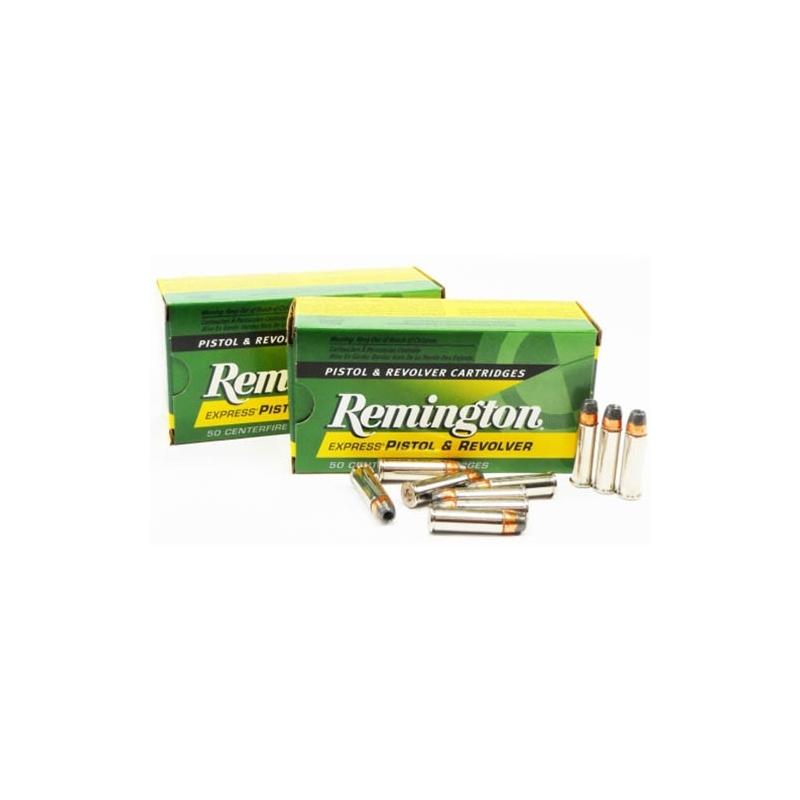 Remington Express 38 Special Ammo 125 Grain +P SJHP