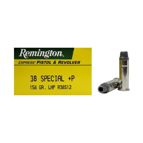 Remington Express 38 Special Ammo 158 Grain +P LHP