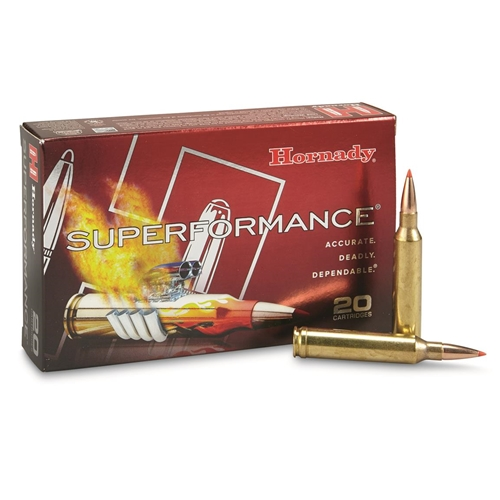 Hornady Superformance 7mm Remington Magnum Ammo 139 Grain GMX