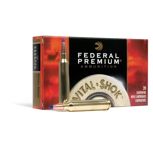 Federal Premium Vital-Shok 243 Winchester 95 Grain Nosler Ballistic Tip Ammunition
