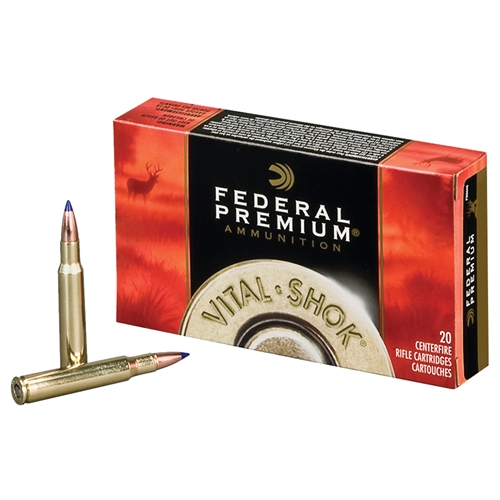 Federal Vital-Shok 243 Winchester Ammo 100 Grain Sierra GameKing Soft Point  Boat Tail