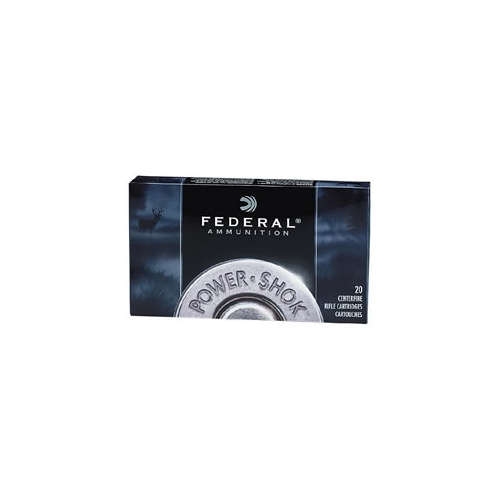 375 H&H Magnum Ammo-Federal Power-Shok Ammunition 375 H&H Magnum 300 Grain  SP Ammo