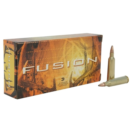 Federal Fusion 30-30 Winchester Ammo 150 Grain Flat Nose
