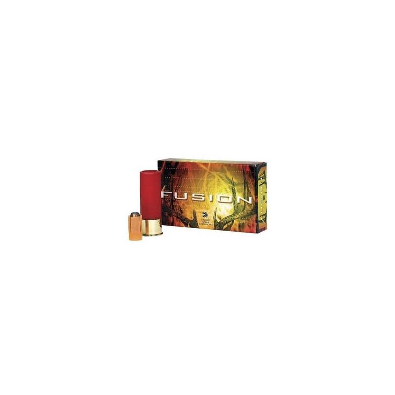 """Federal Fusion Ammunition 12 Gauge 2-3/4"""" 7/8oz. Sabot Slug Box of 5"""