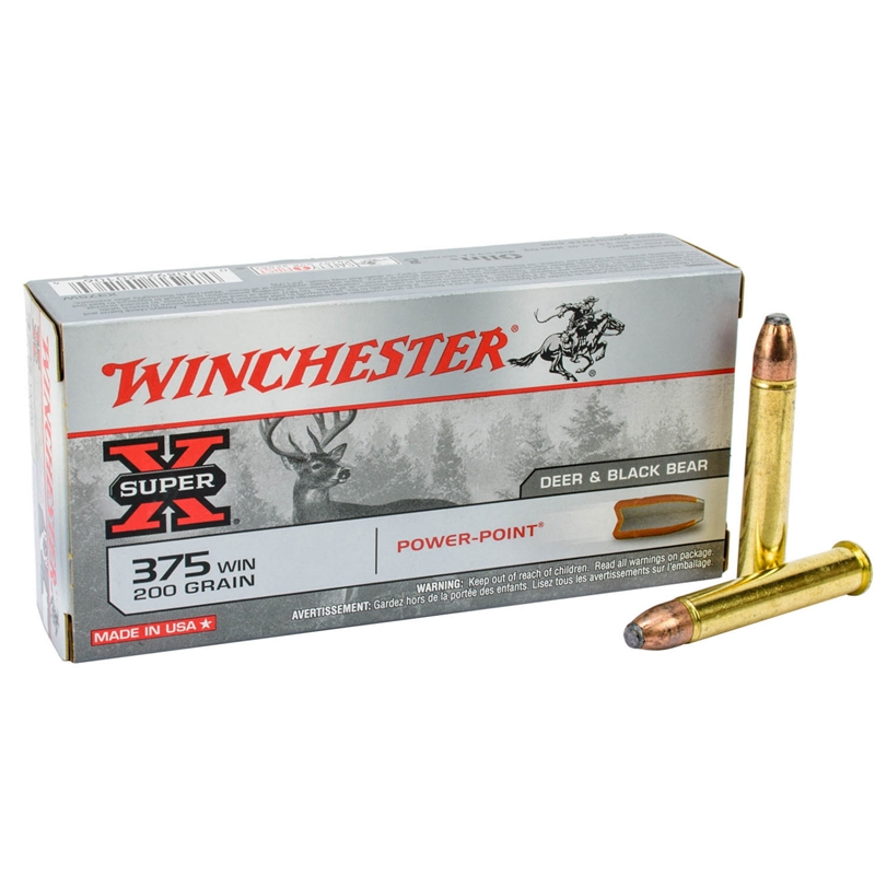 Winchester Super-X 375 Winchester 200 Grain Power-Point