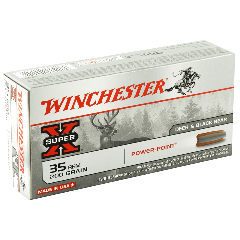 Winchester Super-X 35 Remington 200 Grain Power-Point