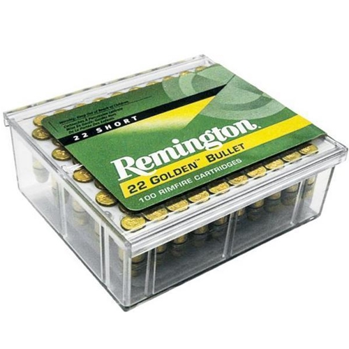 Remington Golden Bullet 22 Short Ammo High Velocity 29 Grain RN