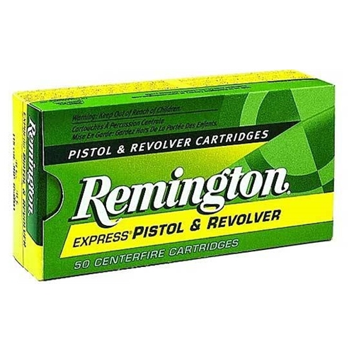 Remington Express 38 Short Colt Ammo 125 Grain LRN