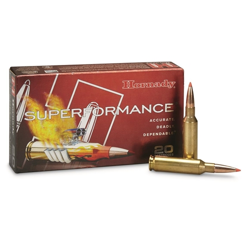 Hornady Superformance  6.5 Creedmoor Ammo 120 Grain GMX Boat Tail Lead-Free