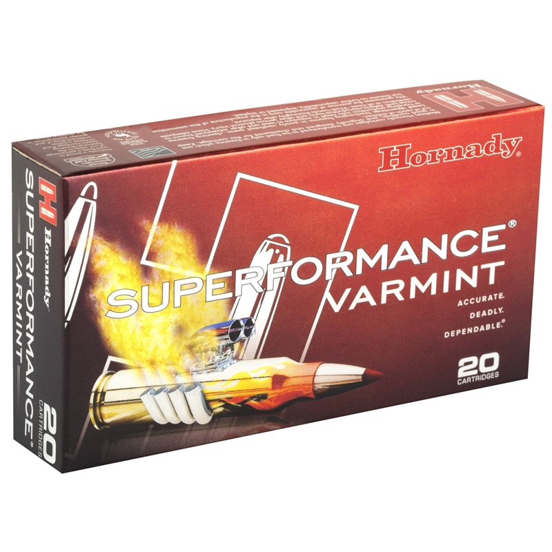 Hornady Superformance 223 Remington Ammo 53 Grain V-Max