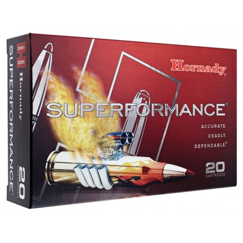 Hornady Superformance 30-06 Springfield 150 Grain Gilding Metal Expanding Boat Tail