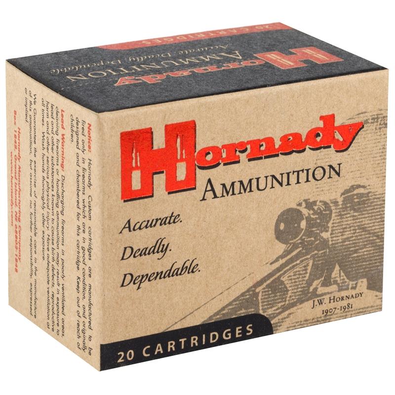 Hornady Custom 454 Casull Ammo 300 Grain XTP JHP