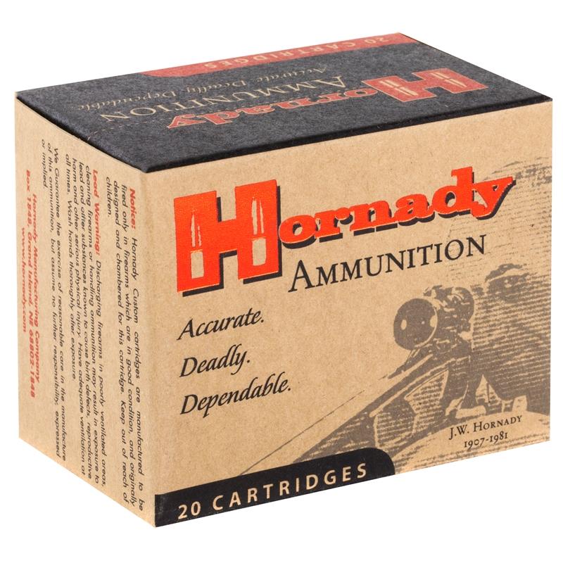 Hornady Custom 454 Casull Ammo 240 Grain XTP Magnum JHP
