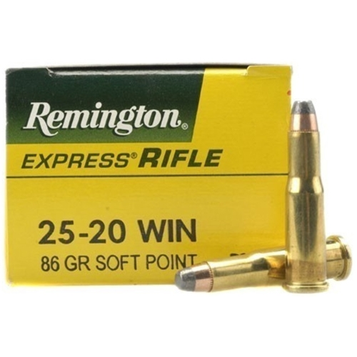 Remington Express 25-20 Winchester Ammo 86 Grain SP
