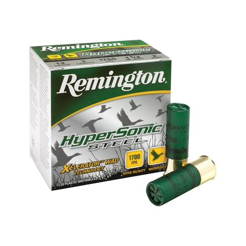 "Remington HyperSonic 12 Gauge 3-1/2"" 1-3/8 oz #2 NT Steel Shot"