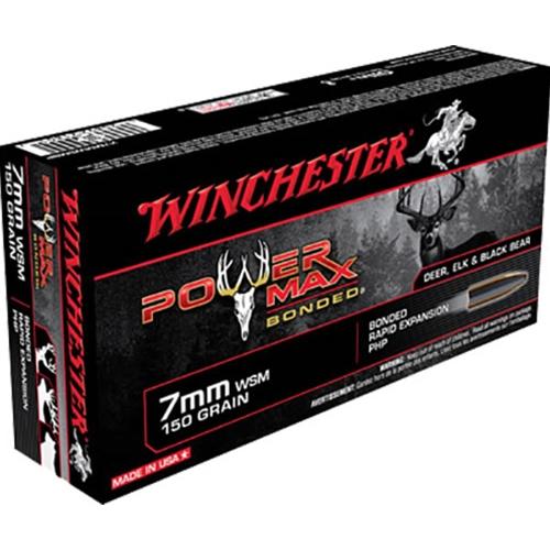 Winchester Super-X Power Max 7mm WSM 150 Grain Bonded HP