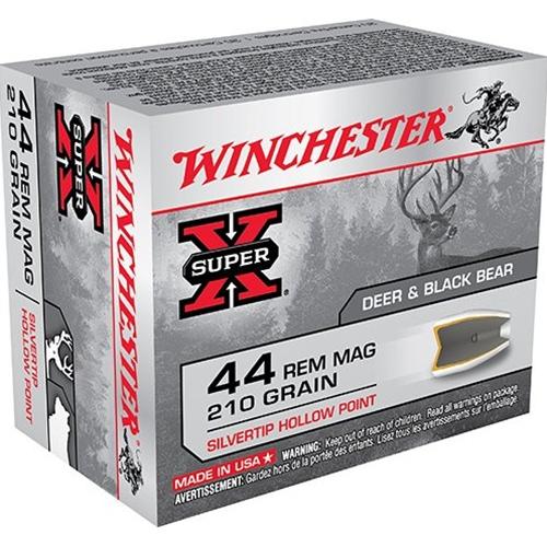 Winchester Super-X 44 Remington Magnum 175 Grain ST HP