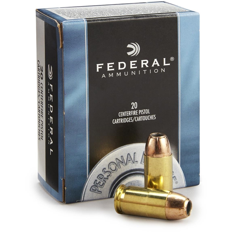 Federal Personal Defense 45 ACP Auto Ammo 230 Grain Jacketed Hollow Point