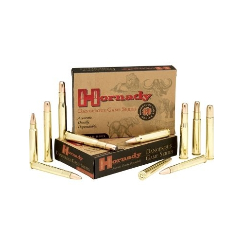 Hornady Dangerous Game 375 H&H Magnum Ammo 300 Grain DGS RN