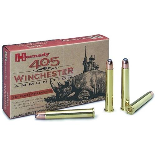 Hornady Dangerous Game 405 Winchester 300 Grain Flat Point Ammunition