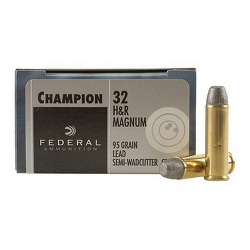 Federal Champion Target Ammo 32 H&R Magnum 95 Grain LSW