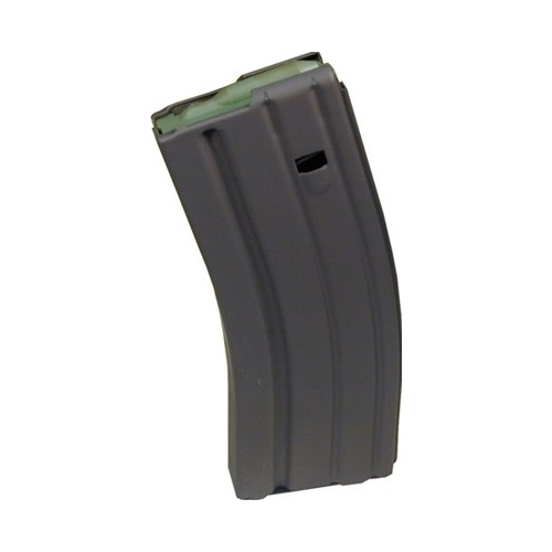Brownells AR15/M16 223 Remington/5.56 NATO Magazine 30 Rounds in Chrome Silicon Spring