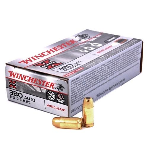 Winchester USA WinClean 380 ACP Auto 95 Gr BEB