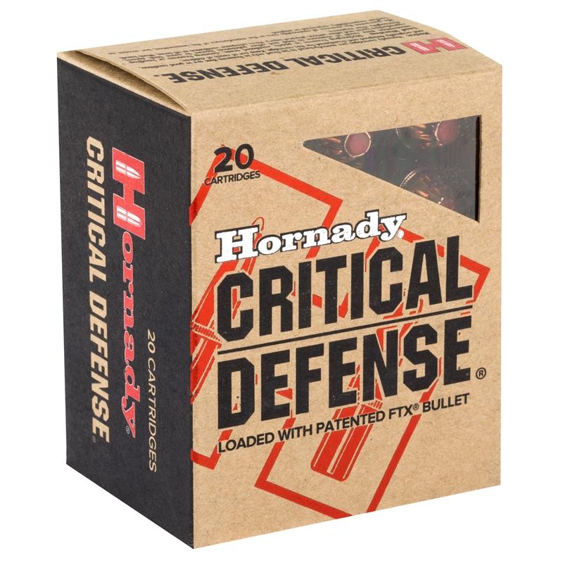 Hornady Critical Defense 44 Special Ammo 165 Gr FTX