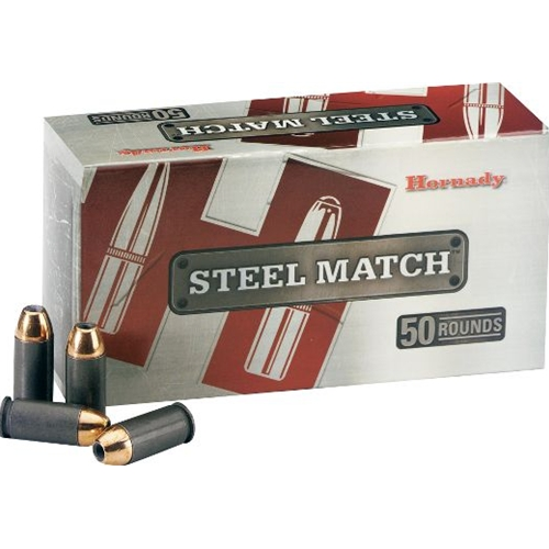 Hornady Steel Match Ammo 45 ACP AUTO 230 Grain HAP Steel Case Ammunition
