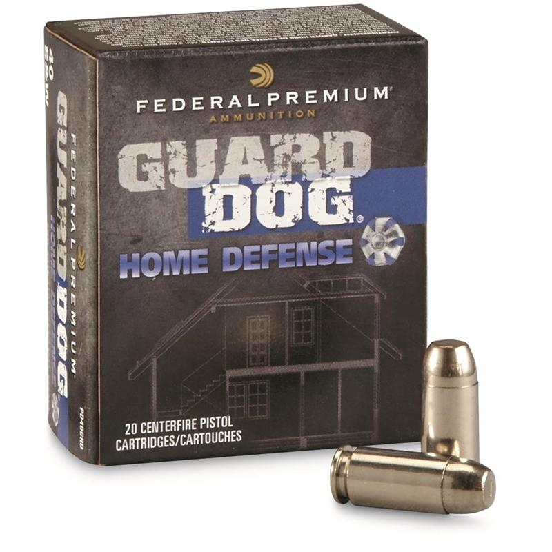 Federal Guard Dog 40 S&W Ammo 135 Grain FMJ