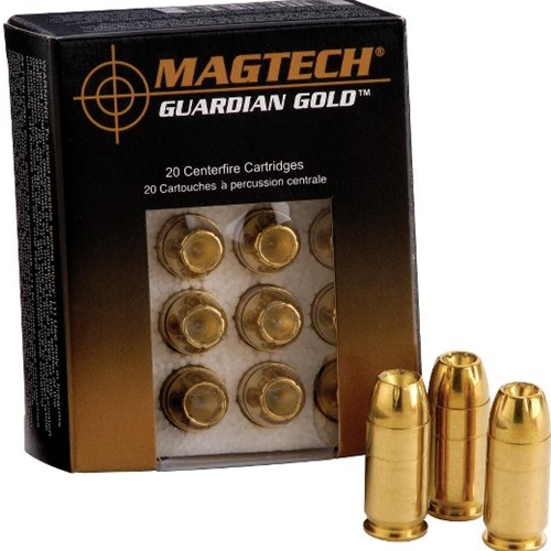 Magtech Guardian Gold 9mm Luger Ammo 124 Grain Jacketed Hollow Point