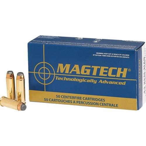 Magtech Sport 38 Special Ammo 158 Grain Lead Semi Wad-Cutter