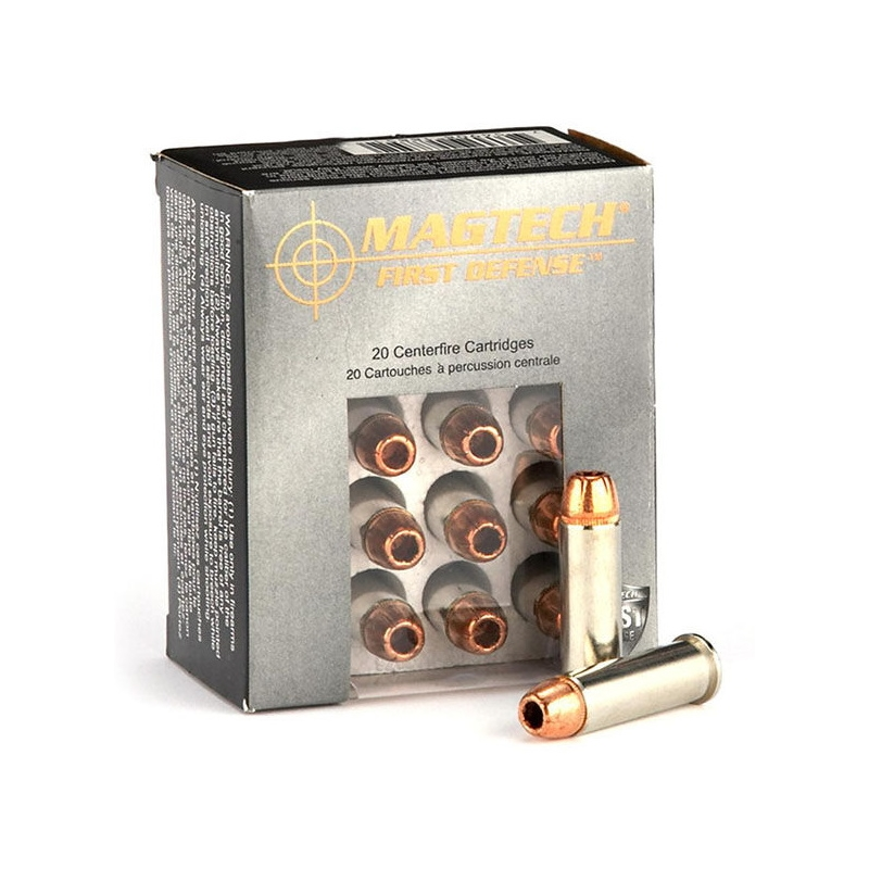 Magtech First Defense 45 GAP 165 Gr. Solid Copper Hollow Point Lead Free Ammo
