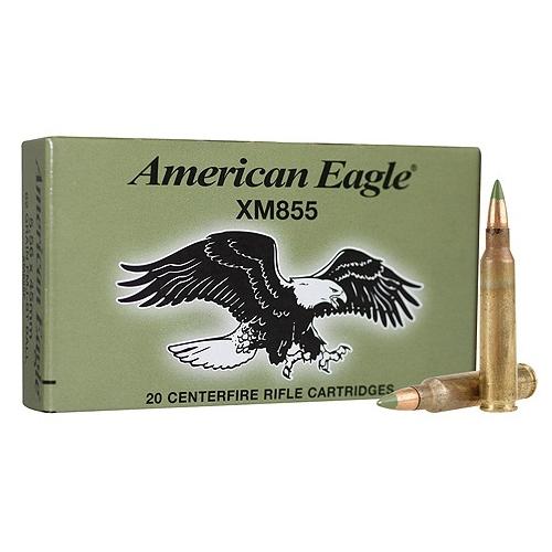 federal lake city ammo 5 56x45mm m855 62 grain green tip fmj