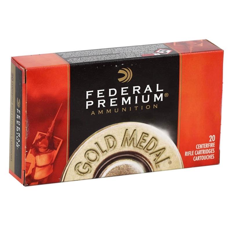 Federal Gold Medal 7.62x51mm NATO Ammo 175 Gr Sierra MatchKing HP