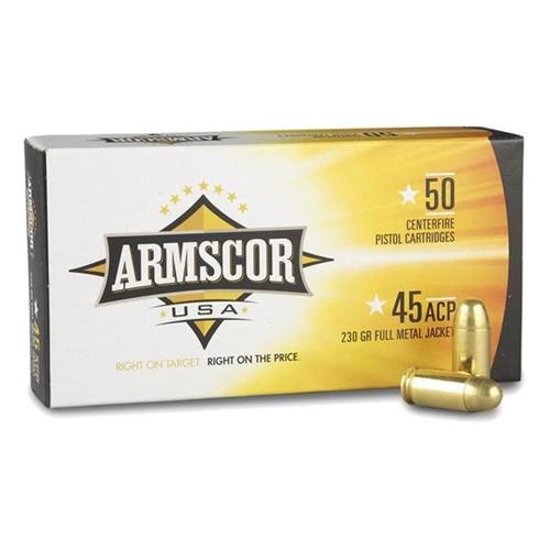 Armscor USA 45 ACP AUTO Ammo 230 Grain Full Metal Jacket