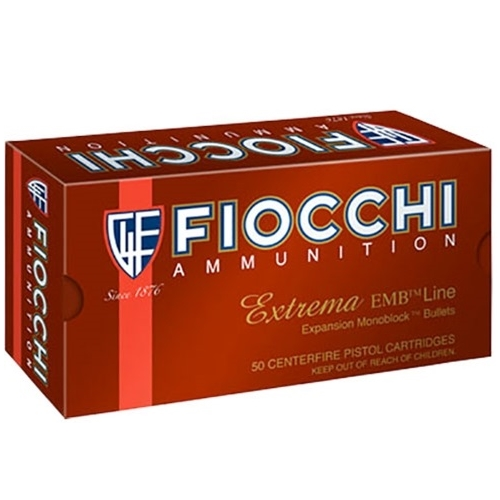 Fiocchi Extrema 9mm Luger Ammo 92 Grain Expansion Monoblock