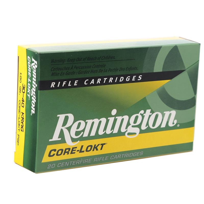 Remington Express 30-40 Krag Ammo 180 Grain PSP