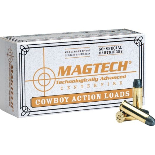Magtech Cowboy Action 45 Long Colt 250 Grain Lead Flat Nose