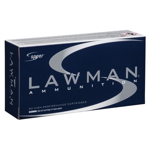 Speer Lawman CleanFire 40 S&W Ammo 180 Grain TMJ