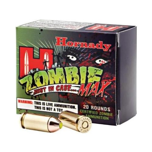 Hornady Zombie Max 40 S&W Ammo 165 Grain Z-Max