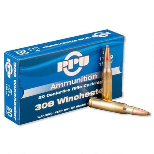 Prvi Partizan 308 Winchester Ammo 165 Grain PSP