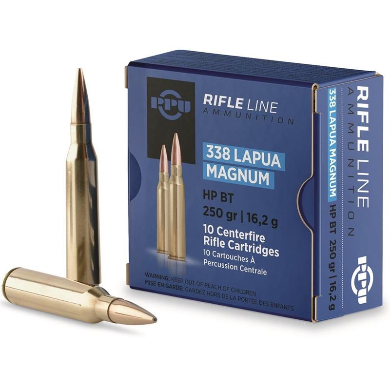 Prvi Partizan 338 Lapua Magnum Ammo 250 Grain Boat Tail HP