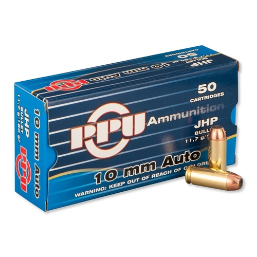 Prvi Partizan 10mm Auto Ammo 180 Grain Jacketed Hollow Point