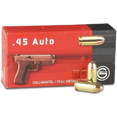 Geco 45 ACP Auto Ammo 230 Grain Full Metal Jacket