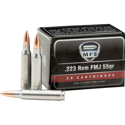 MFS 223 Remington 55 Grain Full Metal Jacket
